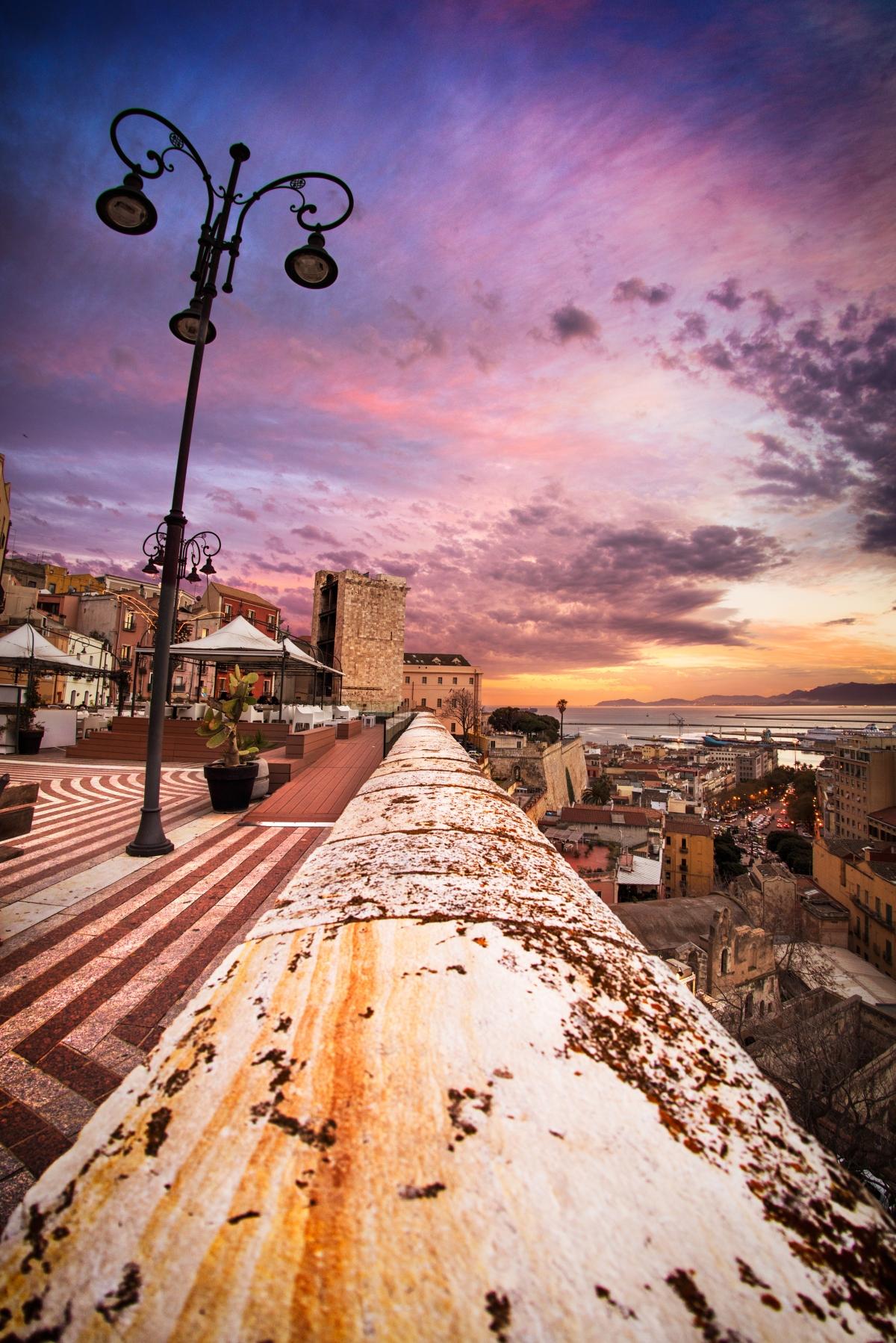 cagliari bastione di santa croce italy - photo#29