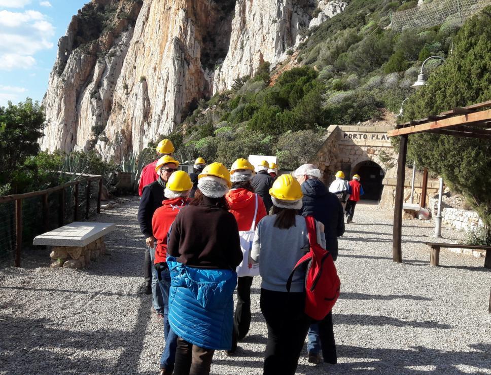Cammino minerario di santa Barbara - Porto Flavia