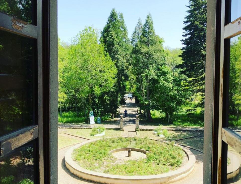 Vista sul Giardino di villa Percy - Bolotana