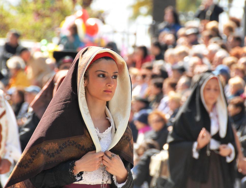 abito tradizionale_processione sant'Efisio