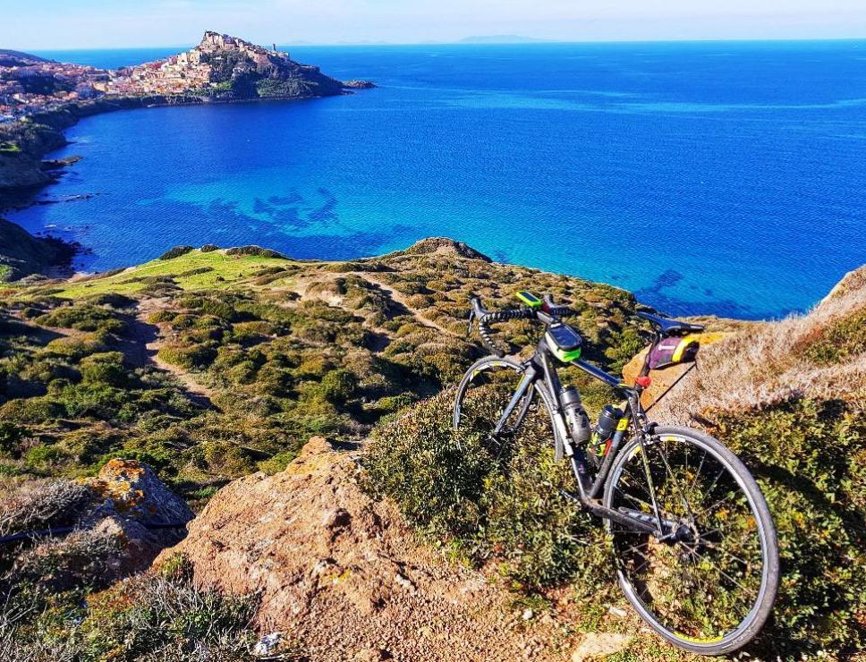 Pedalando in Sardegna_panoramica Castelsardo