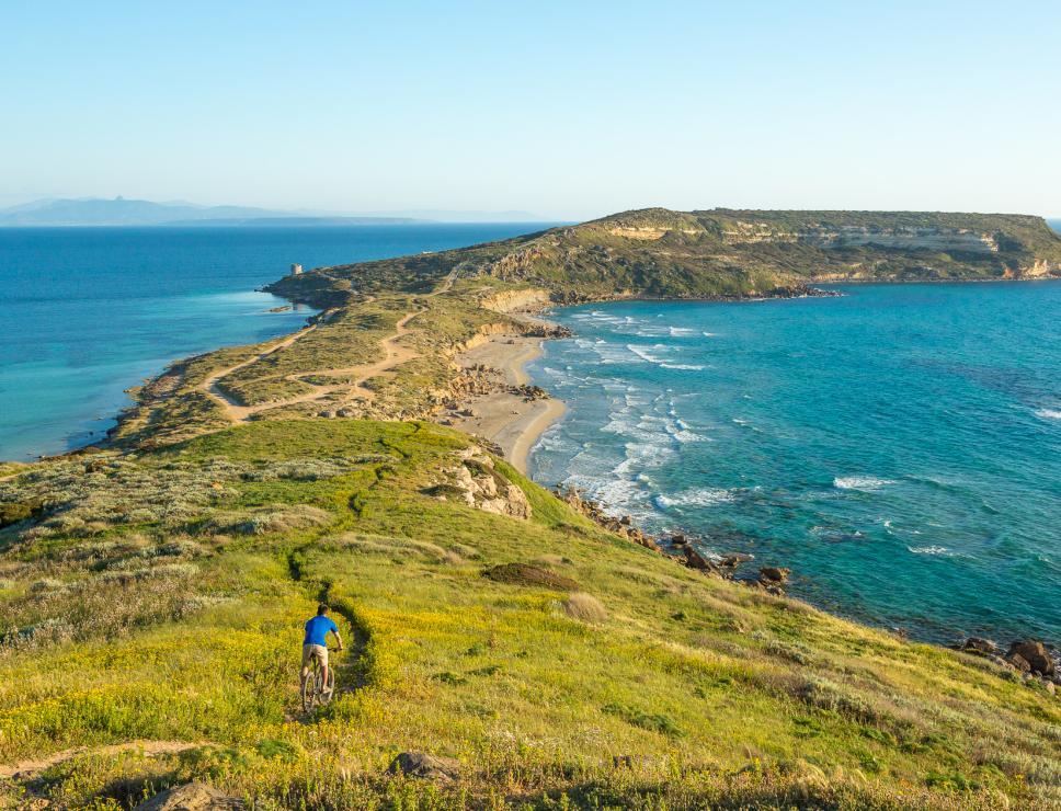 Bici nella penisola del Sinis