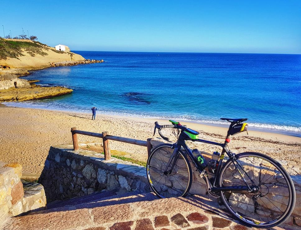 Biking - spiaggia di Balai - Porto Torres