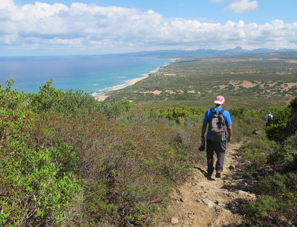 Cammino di santa Barbara - Costa Verde