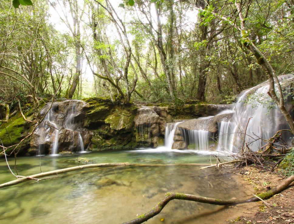 cascata sos alinos - Nurallao