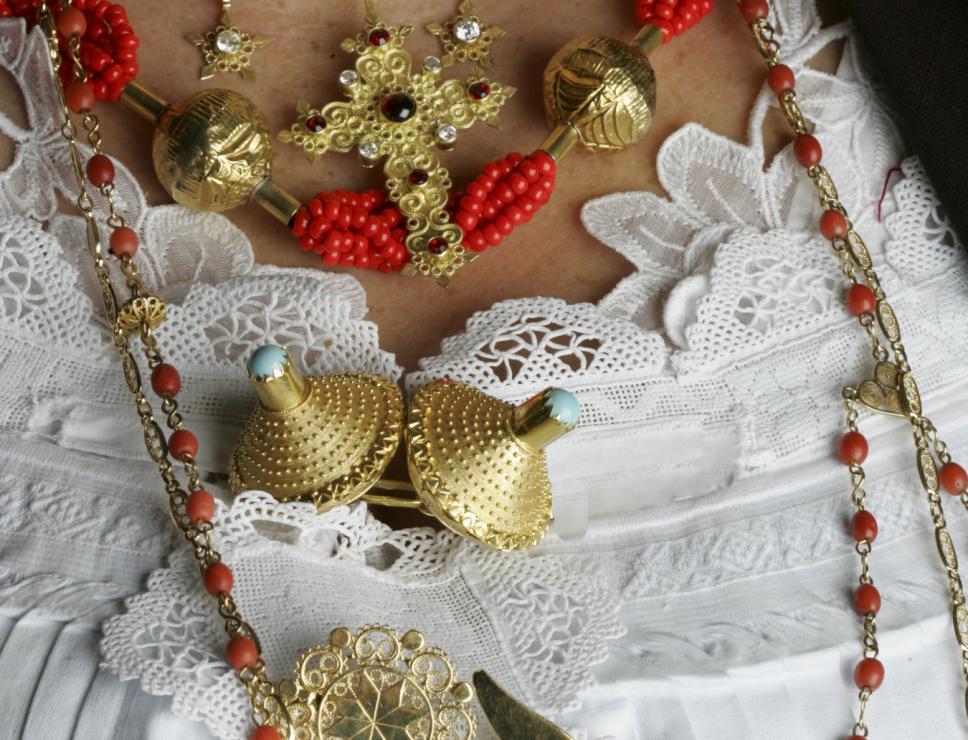 Abito tradizionale femminile di Dorgali