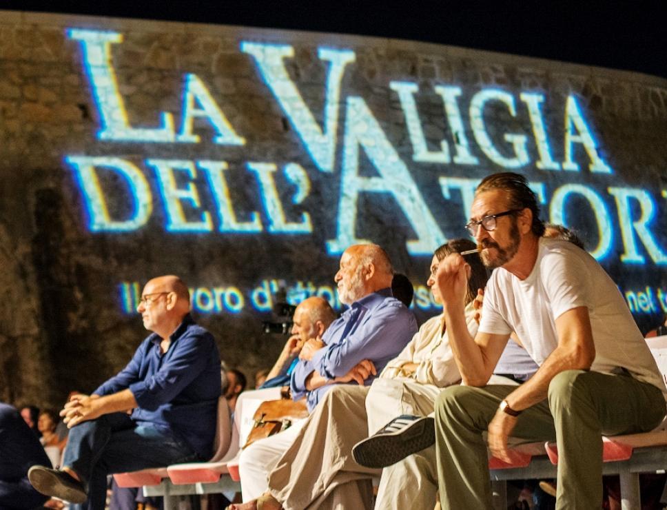 Marco Giallini a La Valigia dell'attore - Fortezza i Colmi - La Maddalena