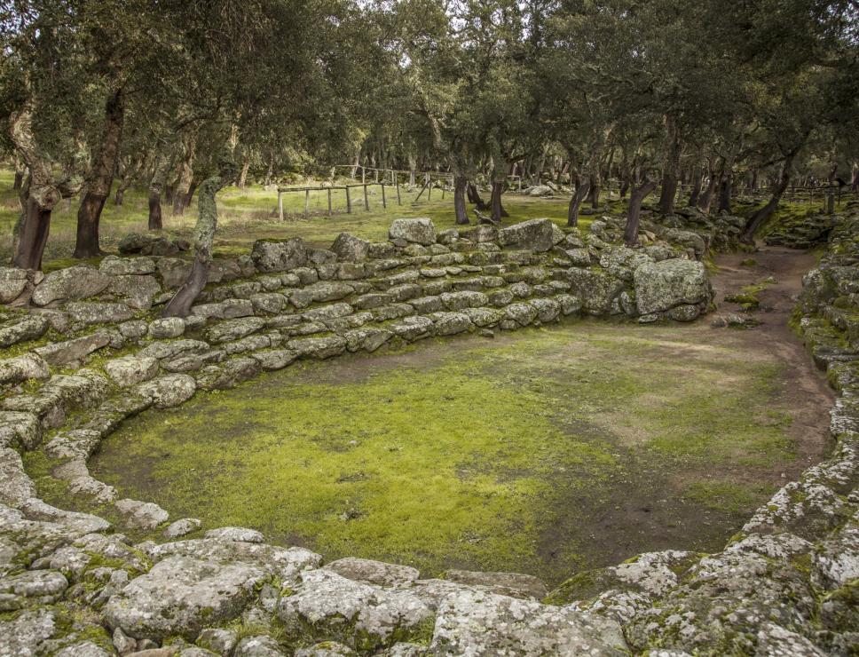 Su Romanzesu, area archeologica - Bitti