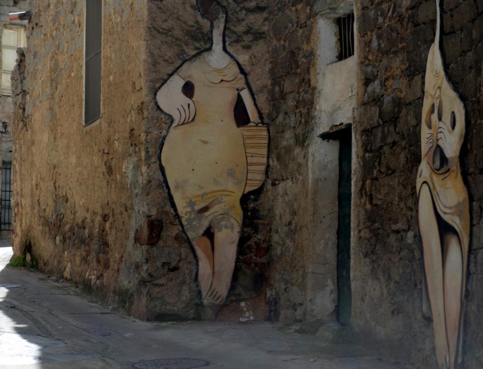 Orgosolo, Murales