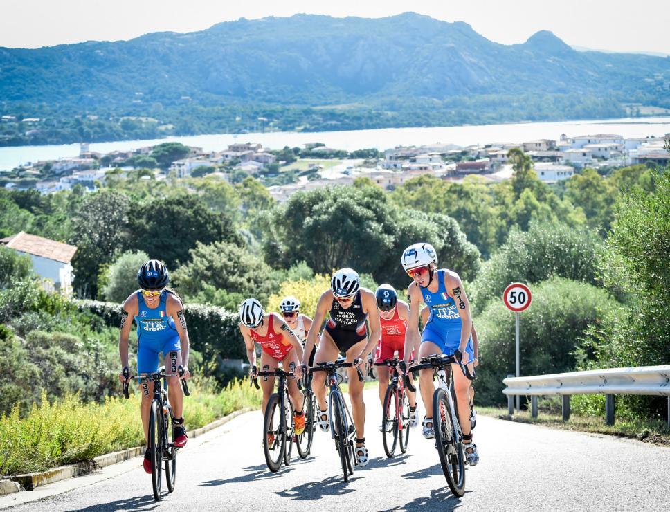 ITU World Cup - Arzachena 2020 - frazione femminile biking