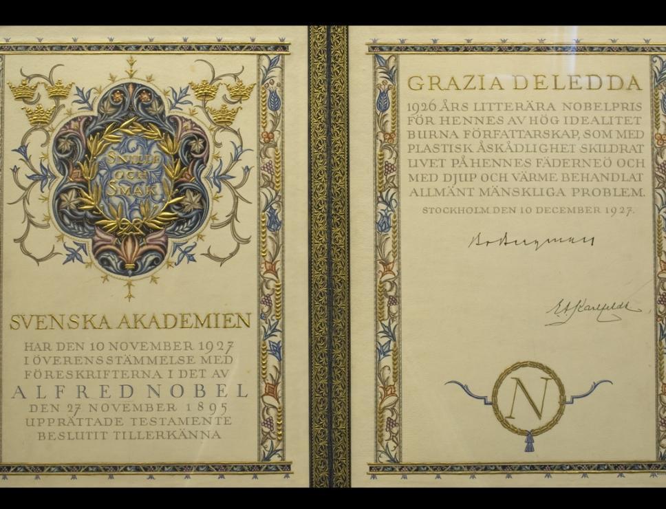 Premio Nobel Grazia Deledda