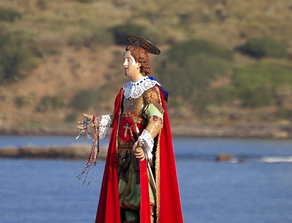 Processione di sant'Efisio a Nora