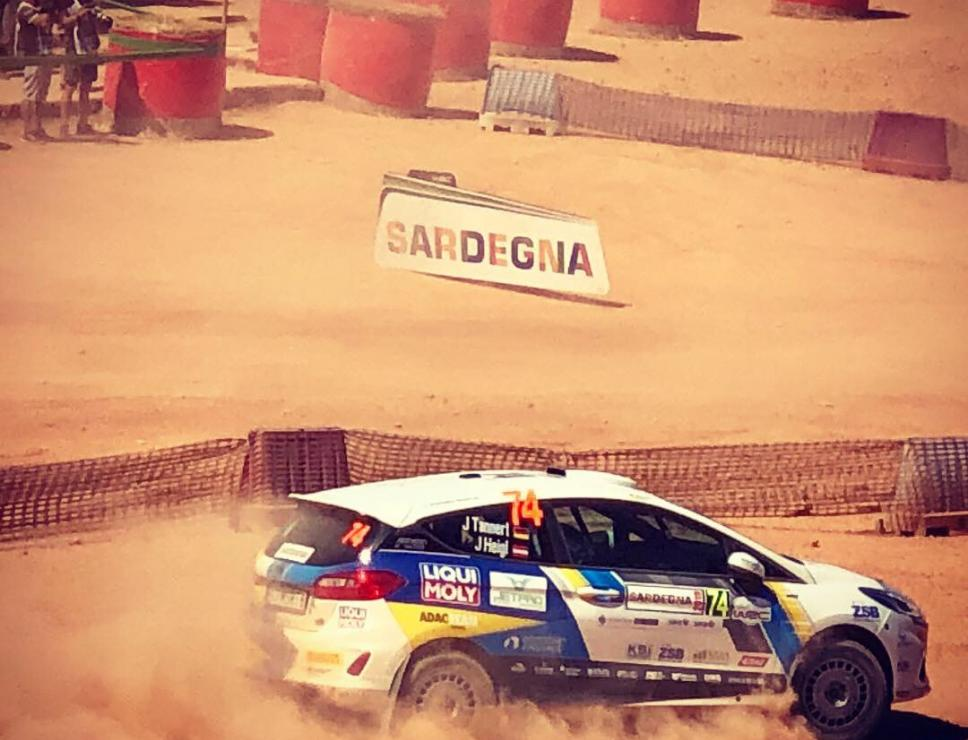 Rally Italia Sardegna 2019 - miniera di Olmedo