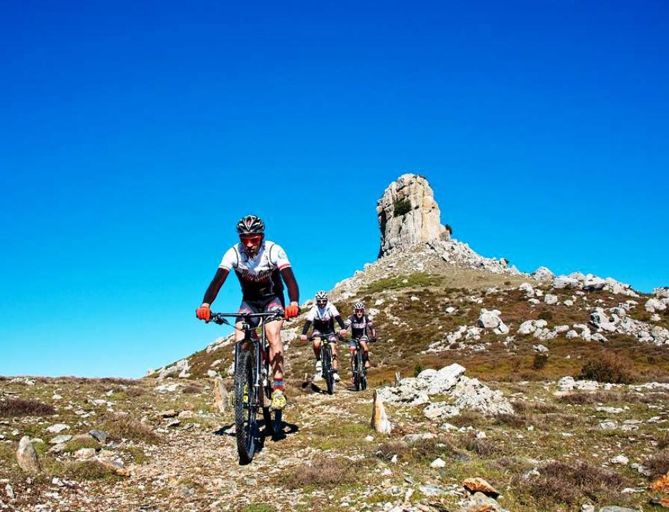 Mountain bike a Perda Liana