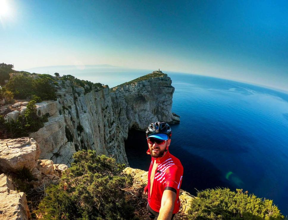 Mountain bike a Capo Caccia