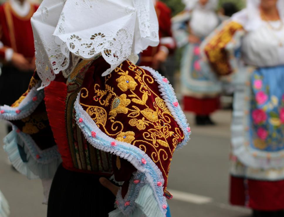 Abito tradizionale di Sennori - Cavalcata sarda