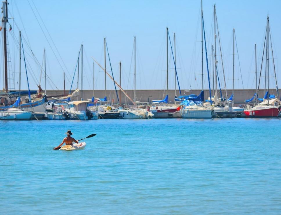 Canoa ad Alghero