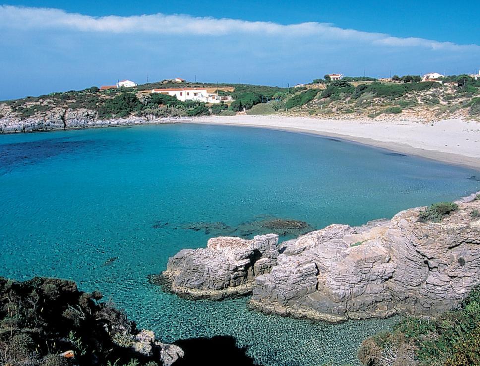 Spiaggia la Bobba - Isola San Pietro