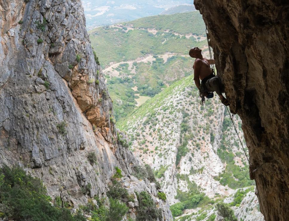 Climbing Buggerru