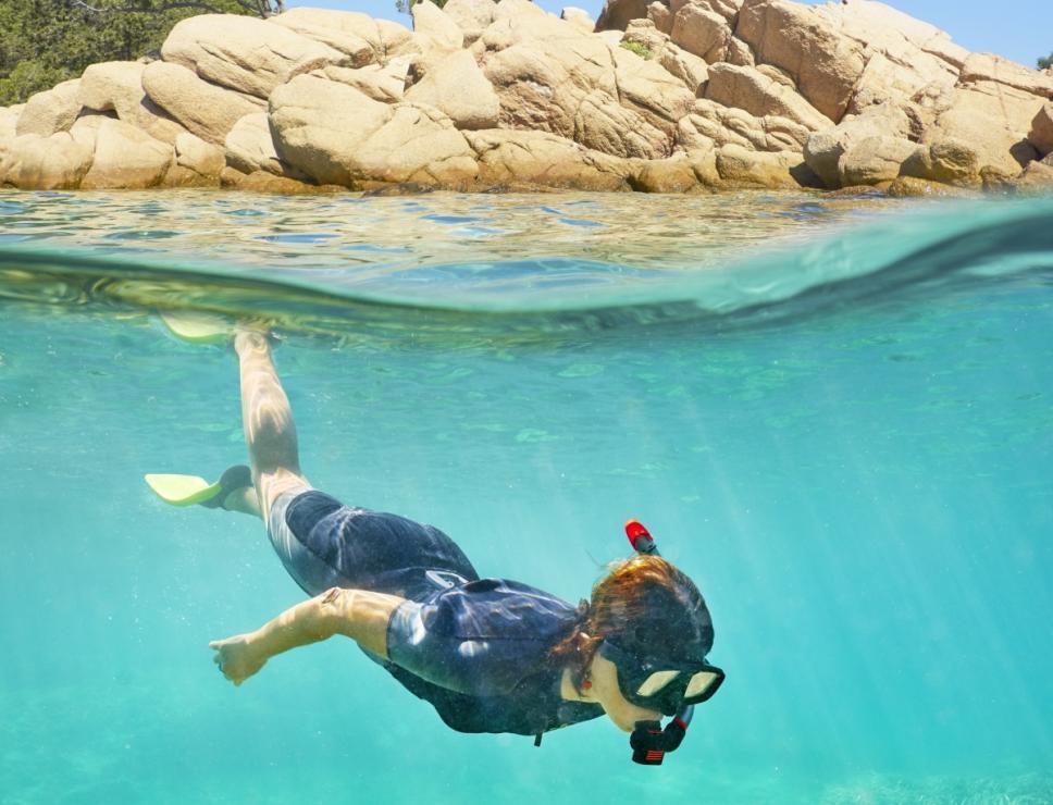 Capriccioli - Snorkeling