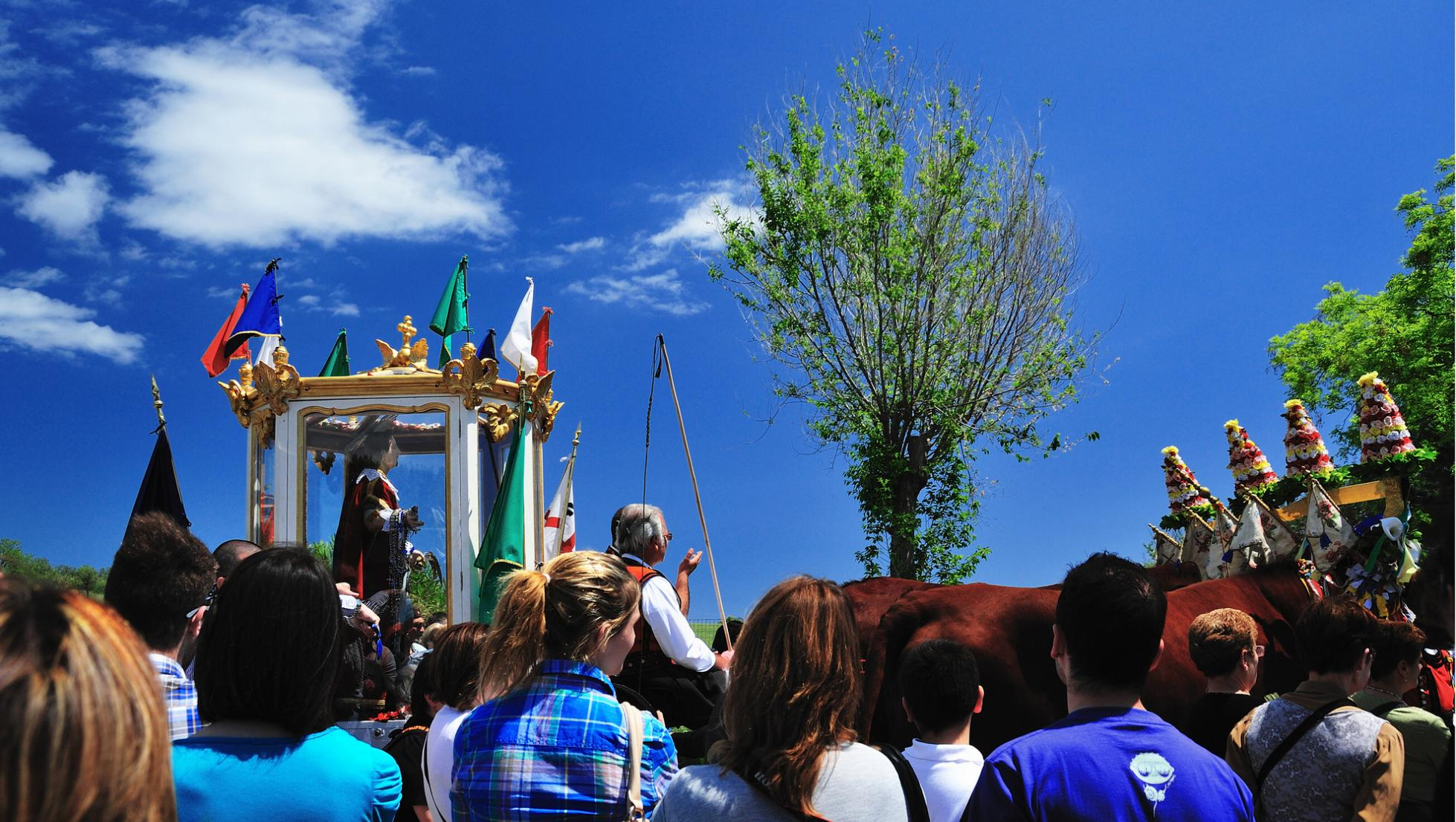 Arrivo di sant'Efisio a Pula