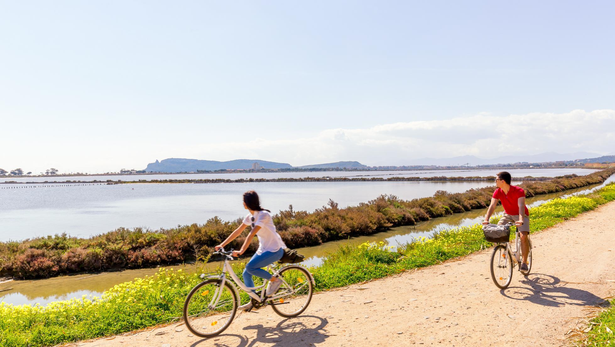 Parco Molentargius in bici