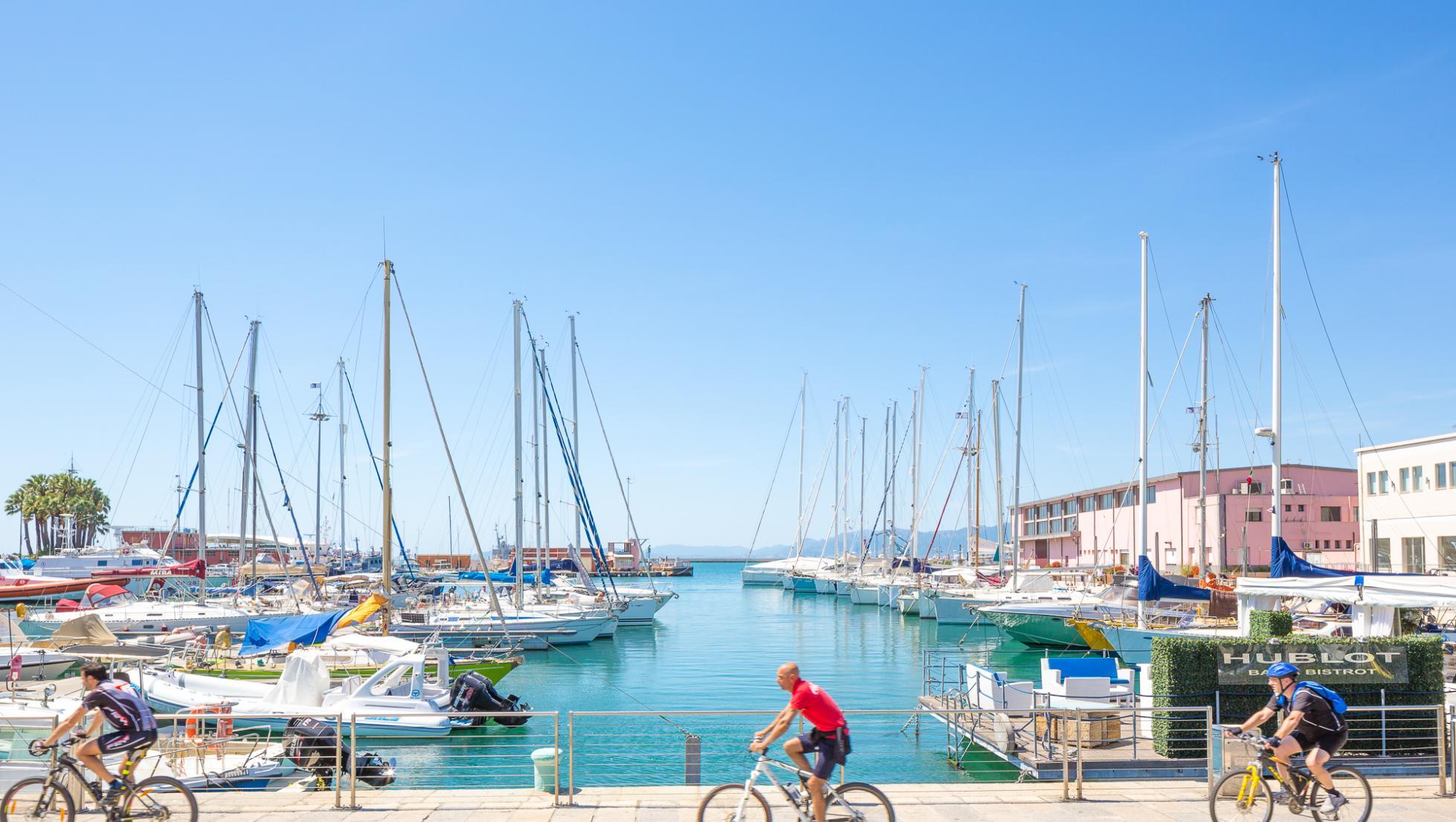 Darsena, molo Dogana - Cagliari