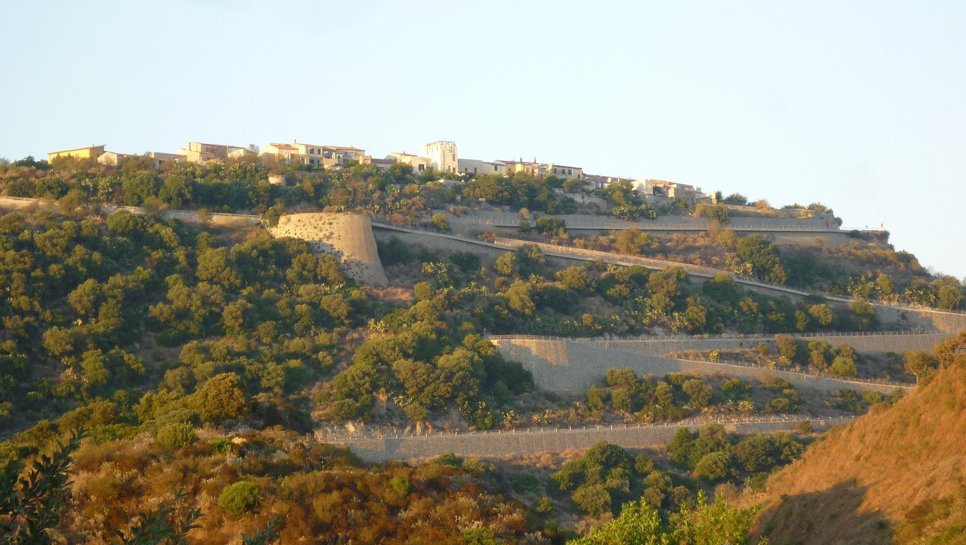 Veduta di Monteleone Rocca Doria