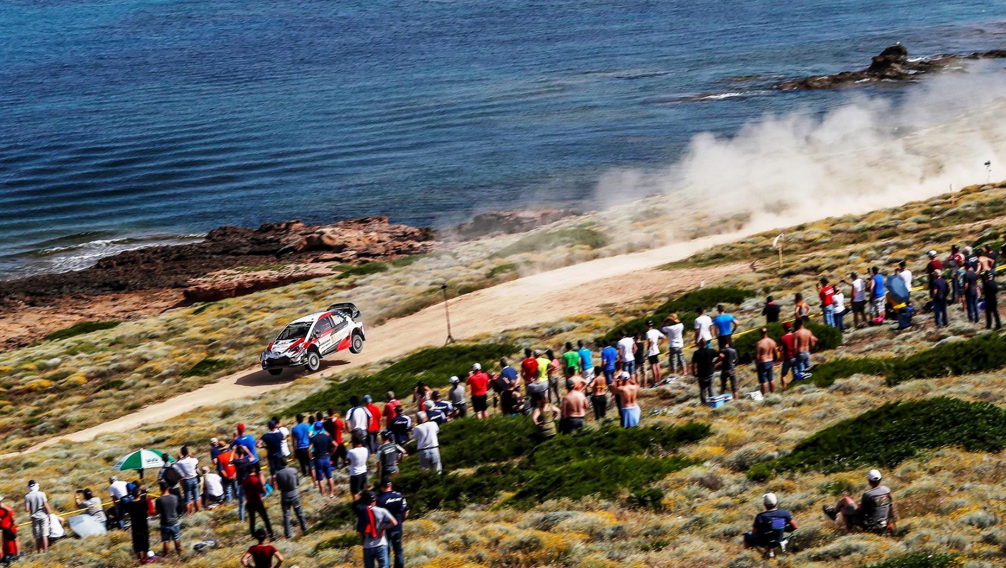 Cala Flumini - Rally Italia Sardegna 2018