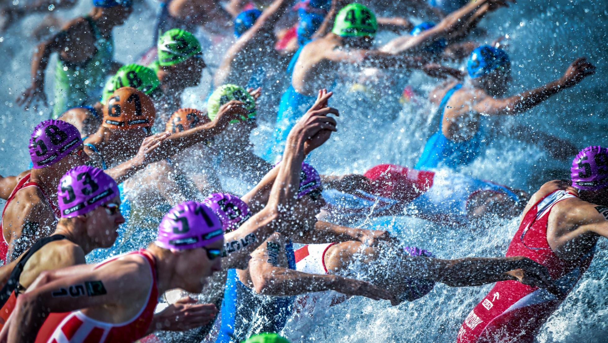 ITU World Cup - Arzachena 2020 - frazione swimming