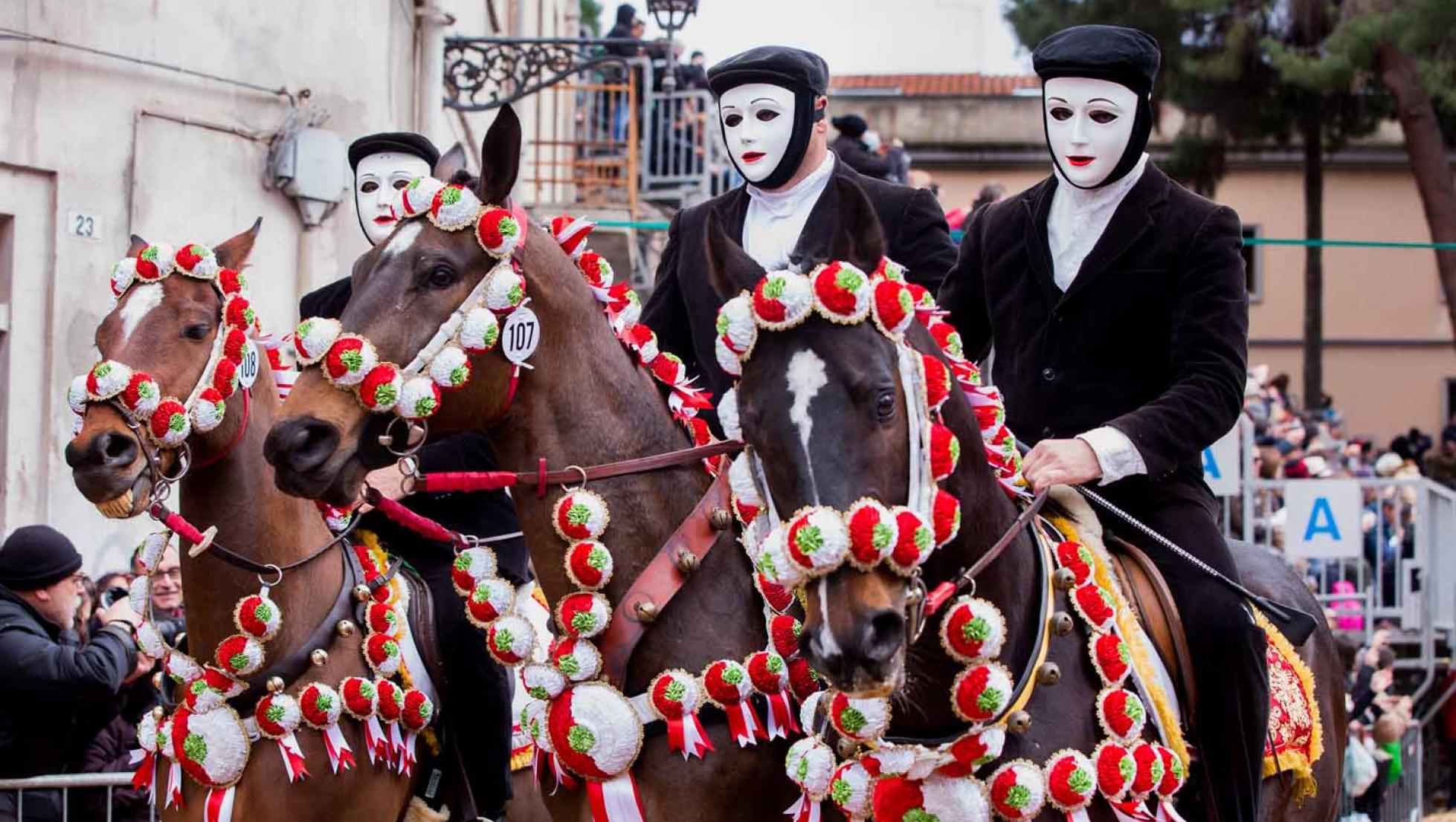 Sa Sartiglia, cavalieri - Oristano