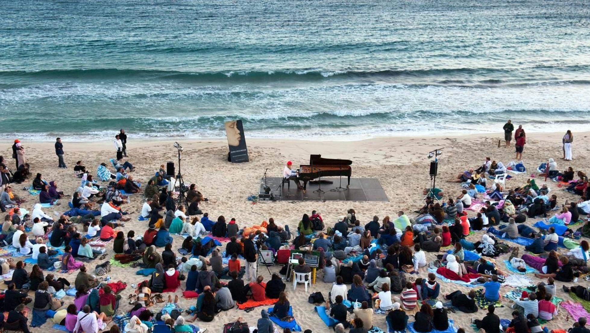 Musiche sulle bocche - concerto  in spiaggia