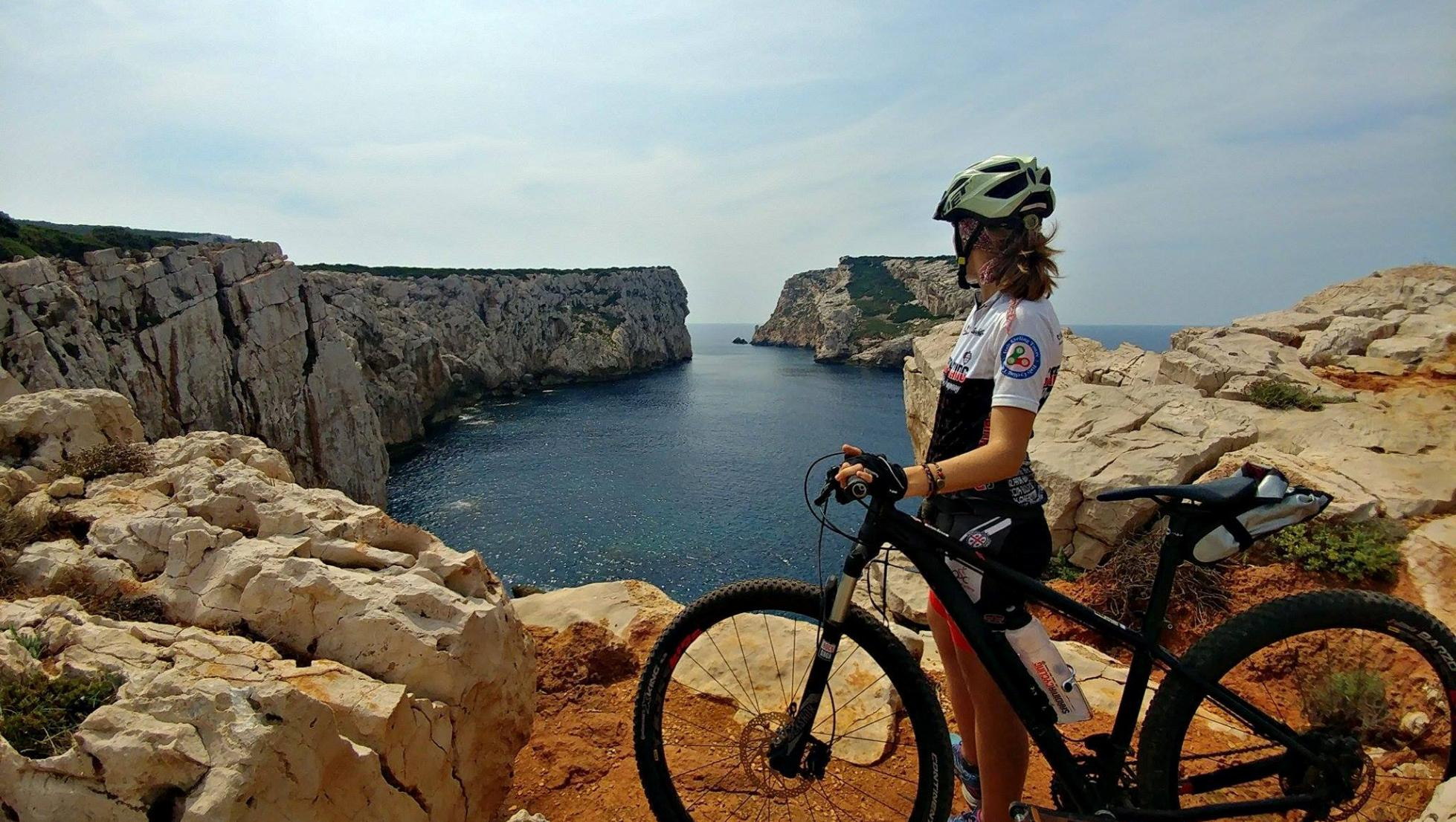 Mountain Bike a Capo Caccia_isola Foraddada