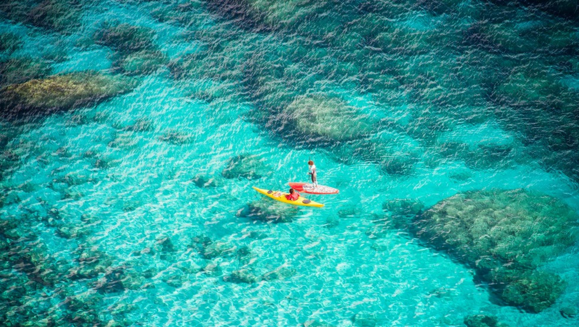 Canoa in Sardegna