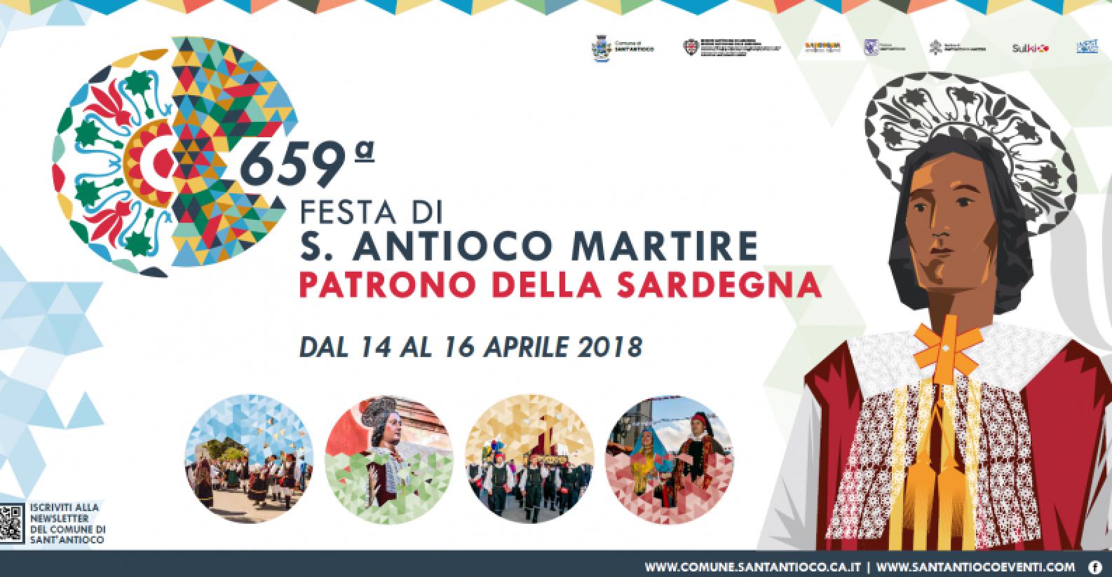 Festa di Sant'Antioco Martire 2018 (locandina)