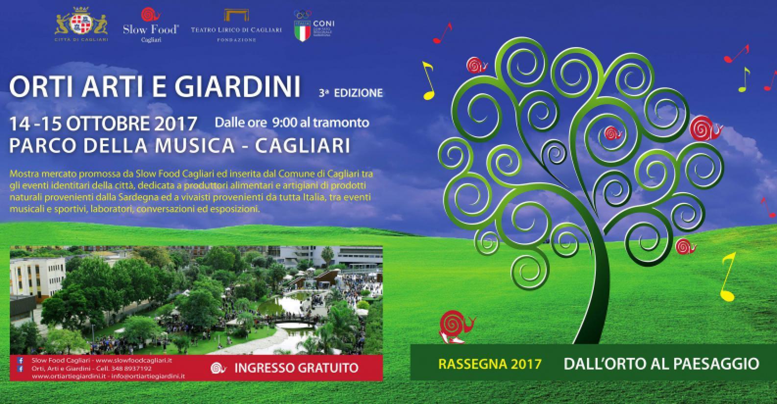 Orti, Arti e Giardini 2017 (locandina)