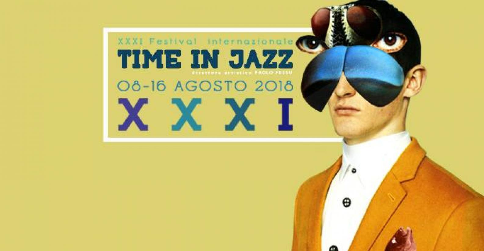 Time in Jazz 2018 (locandina)