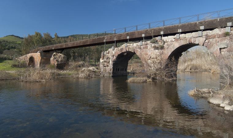 Ponte romano, su ponti ecciu - Allai