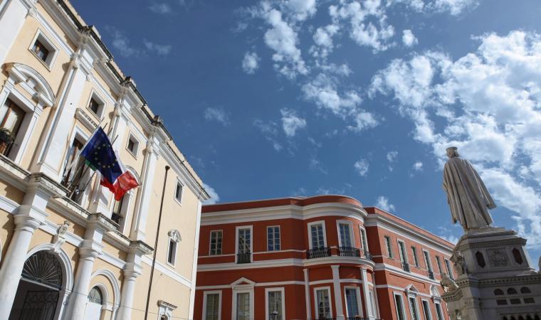 Palazzo degli  Scolopi, piazza E. d'Arborea - Oristano