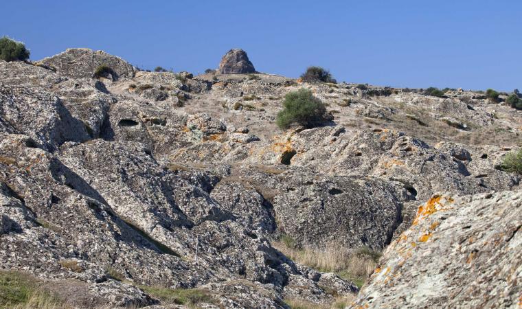 Crateri vulcanici Meilogu, veduta