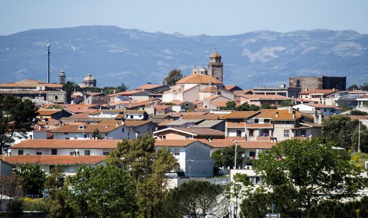 Ghilarza, panorama