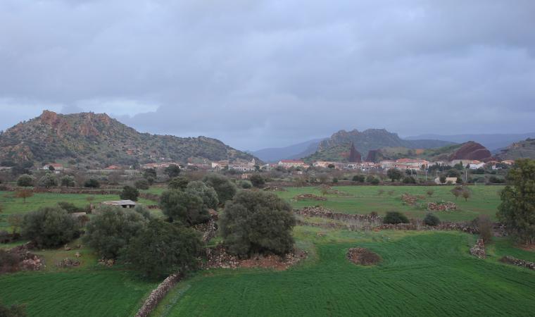 Veduta di Ittireddu