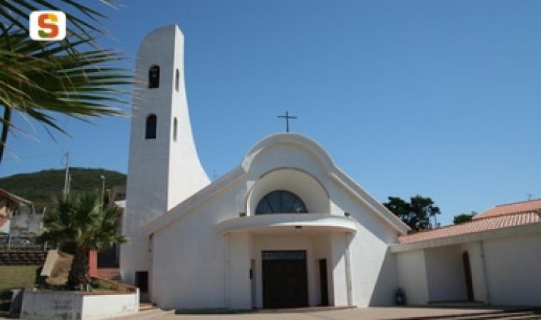 Tresnuraghes, chiesa di cala degli Albatros