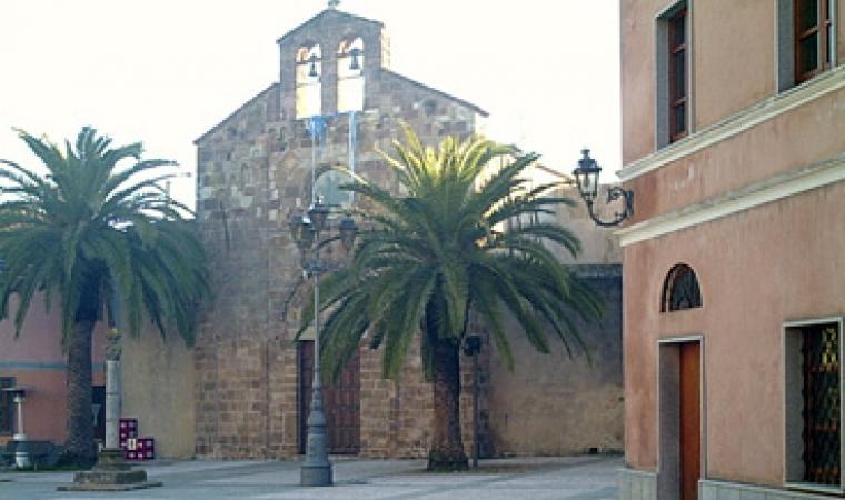 Villamassargia, chiesa della Madonna del Pilar