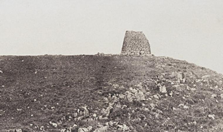 Édouard Delessert, nuraghe Ruiu, 1854