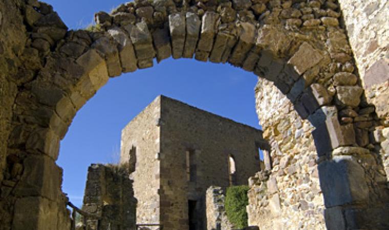 Laconi, il castello del parco Aymerich