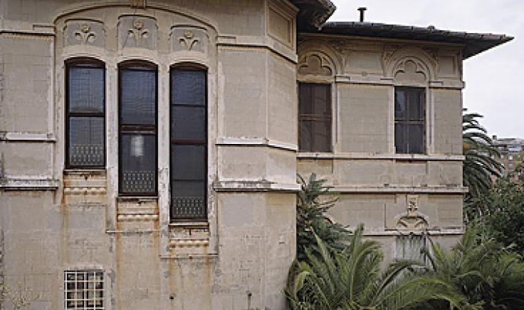 Iglesias, palazzina dell'Associazione Mineraria Sarda