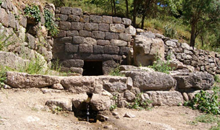 Bonorva, fonte di Su Lumarzu