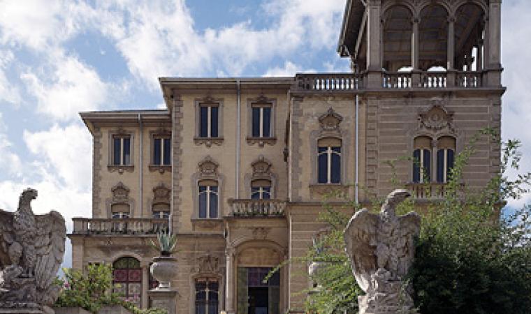 Sassari, villa Arborio