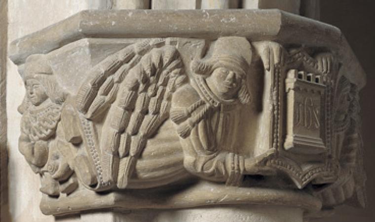 Padria, chiesa di Santa Giulia, capitello